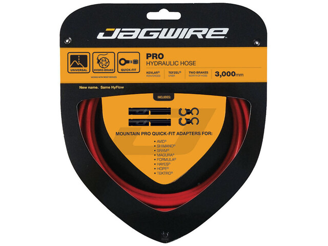 Jagwire Pro Hydraulic Remleiding, red
